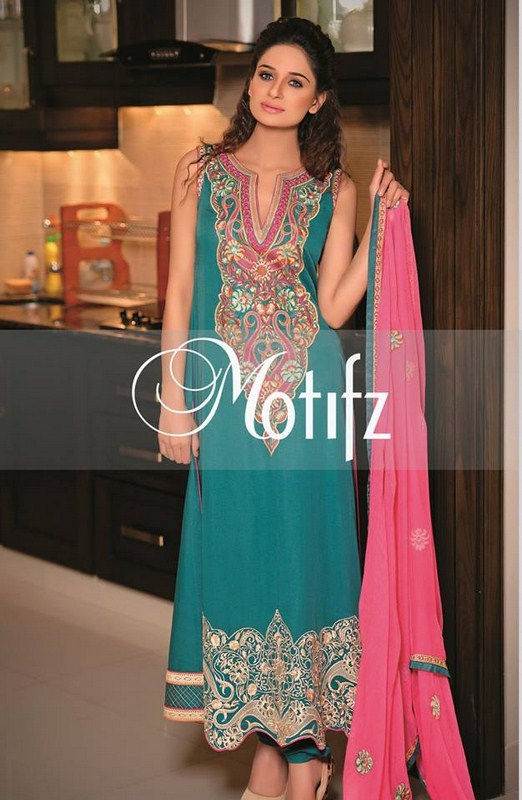 Motifz Party Dresses 2014 For Women 004