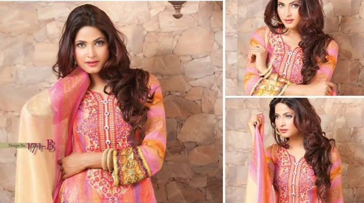 Rashid Textiles Monarca Lawn 2014 for Women