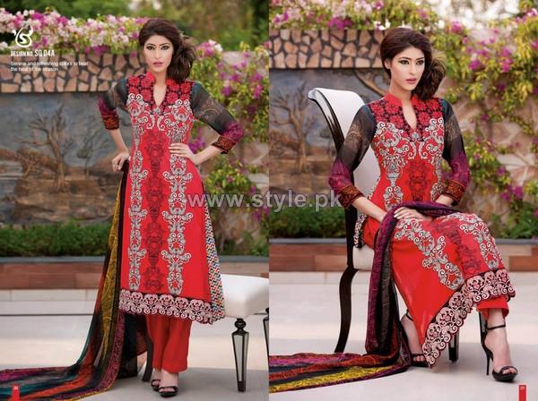 Salam's Textile Summer Dresses 2014 Volume 2 6