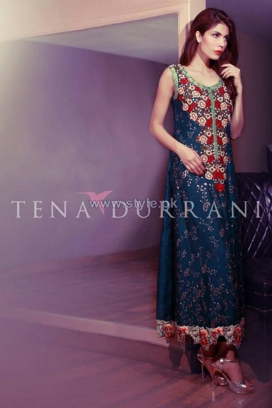 Tena Durrani Party Dresses 2014 For Women 5