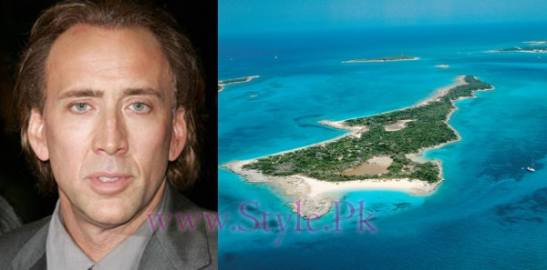 Top 5 Celebrities Who Have Owned Islands-Nicholas Cage