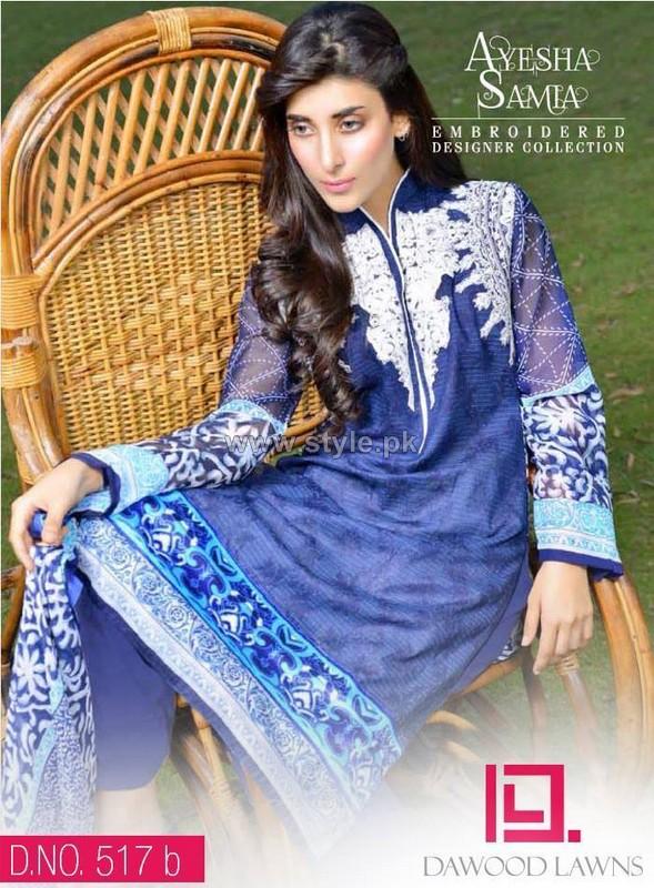 Ayesha Samia Lawn Dresses 2014 Volume 2 8