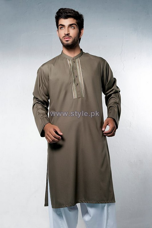 Bonanza Garments Kurta Shalwar Designs 2014 For Boys 2