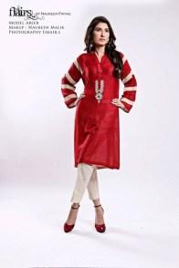 Flairs by Naureen Fayyaz Summer Dresses 2014 for Women002