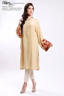 Flairs by Naureen Fayyaz Summer Dresses 2014 for Women007