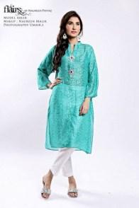 Flairs by Naureen Fayyaz Summer Dresses 2014 for Women008