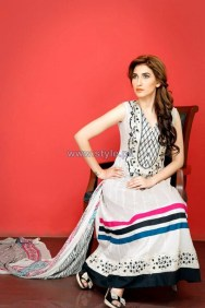 Ghani Textile Party Dresses 2014 For Women 8