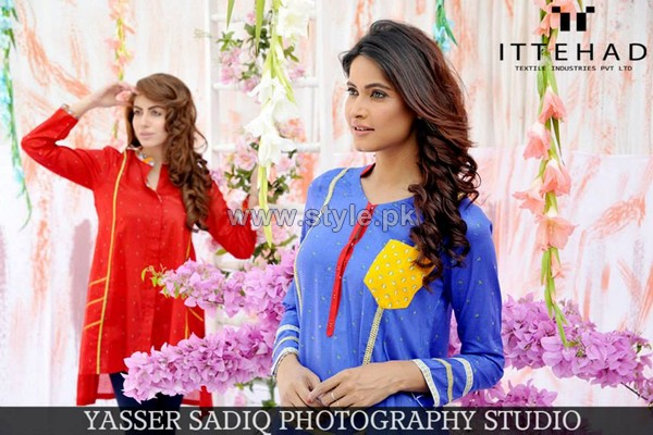 Ittehad Textile Rahat Collection 2014 For Summer 7