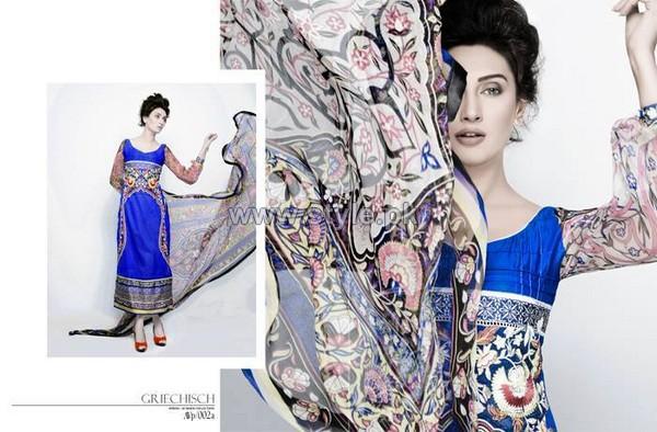 Aeisha Varsey Premium Lawn Dresses 2014 For Eid-Ul-Fitr 5