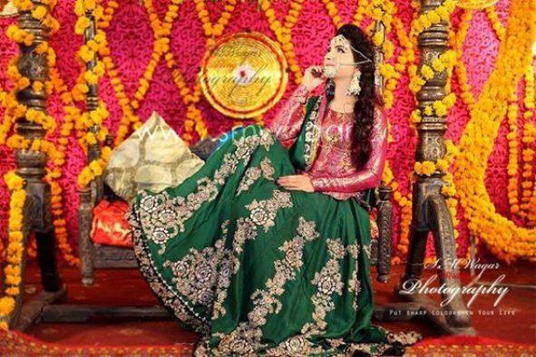 Dua Malik Mehndi And Wedding Pictures 02