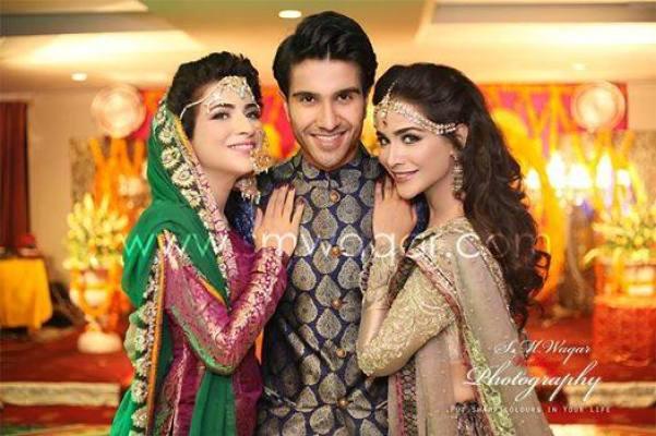Dua Malik Mehndi And Wedding Pictures 04