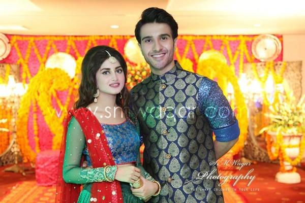 Dua Malik Mehndi And Wedding Pictures 06
