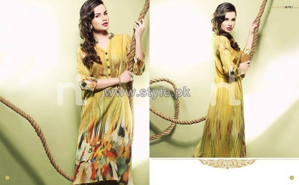 Nishat Linen Summer Arrivals 2014 Volume 3 11