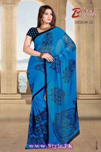 Saree Colors For Girls Summer 2014  (21)