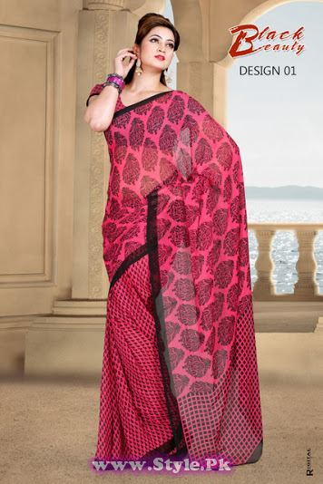 Saree Colors For Girls Summer 2014