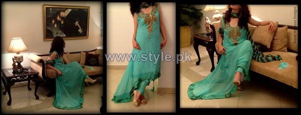 Anum Mansoor Trendy Eid Dresses 2014 For Girls 1