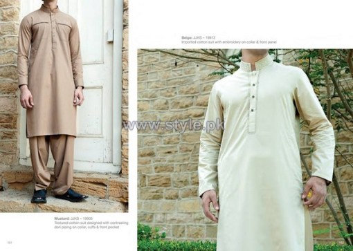 Junaid Jamshed Eid Clothes 2014 For Boys 2