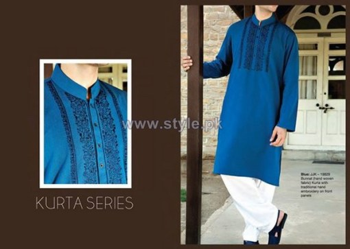 Junaid Jamshed Eid Clothes 2014 For Men 10