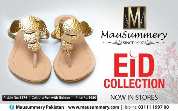 Mausummery Eid Footwear Collection 2014 For Women 007