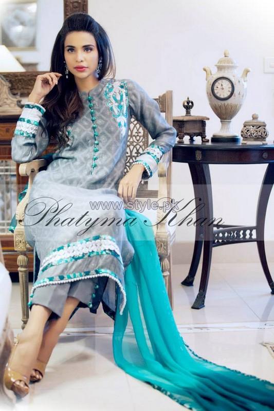 Phatyma Khan Eid-Ul-Fitr Dresses 2014 For Girls 2