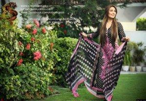 Trends Of Designer Lawn Dresses In Summer 002