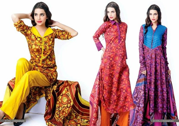 Trends Of Designer Lawn Dresses In Summer 003
