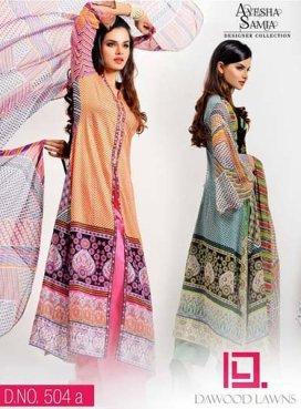 Trends Of Designer Lawn Dresses In Summer 006