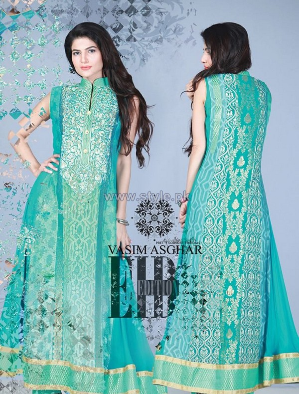 Vasim Asghar Eid Dresses 2014 For Girls 4