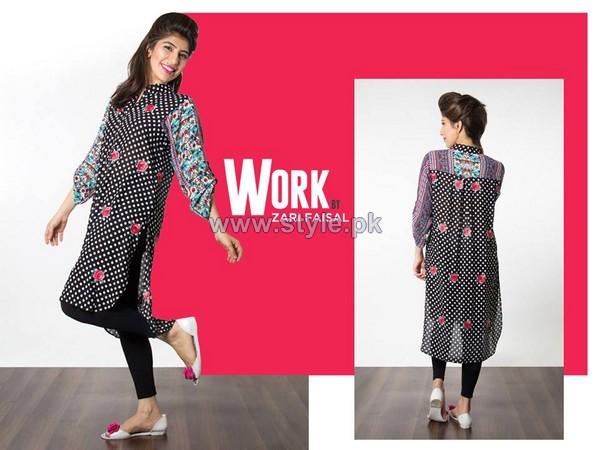Zari Faisal Work Collection 2014 For Girls 7