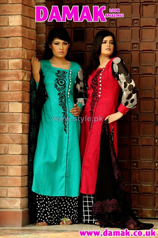 Damak Summer Dresses 2014 For Women 9