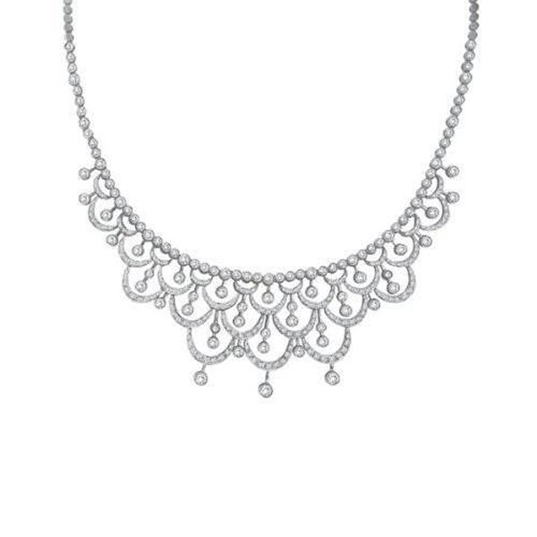 Designs Of Diamond Necklaces 2014 For Women 0011