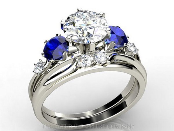 Designs Of Wedding Sapphire Rings For Women 0012
