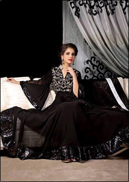Fashion Of Black Party Dresses 2014 For Women 004