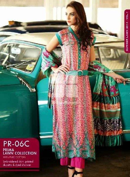 Fashion Of Pakistani Chunri Dresses 2014 For Women 004