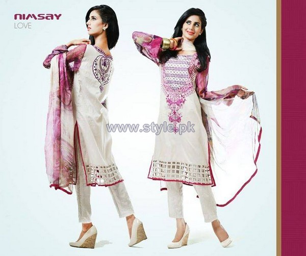 Nimsay Eid-Ul-Azha Dresses 2014 For Girls 3