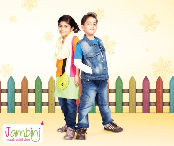 Jambini Winter Dresses 2014 For Kids 002