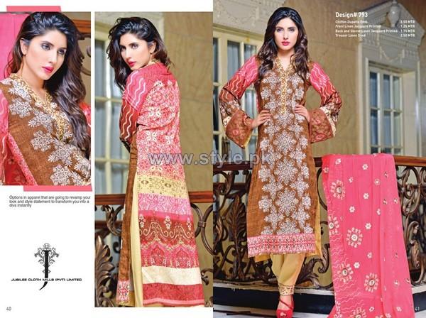 Jubilee Karam Dresses 2014 For Autumn 1