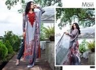 Mavi Designer Winter Dresses 2014 By Shariq Textiles 6