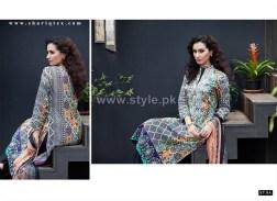 Mavi Designer Winter Dresses 2014 By Shariq Textiles 9