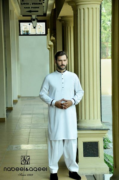 Nabeel And Aqeel Eid Ul Azha Collection 2014 For Men 002