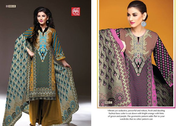 Al Hamra Textiles Winter Dresses 2014 For Women 009