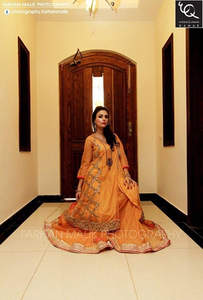 Ayesha And Usman Qamar Autumn Dresses 2014 For Women 004