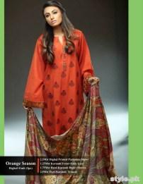 Hadiqa Kiani Winter Dresses 2014 Volume 2 5
