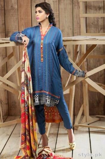 Hadiqa Kiani Winter Dresses 2014 Volume 2 6