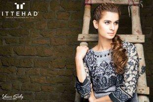Ittehad Textiles Winter Dresses 2014 For Women 005