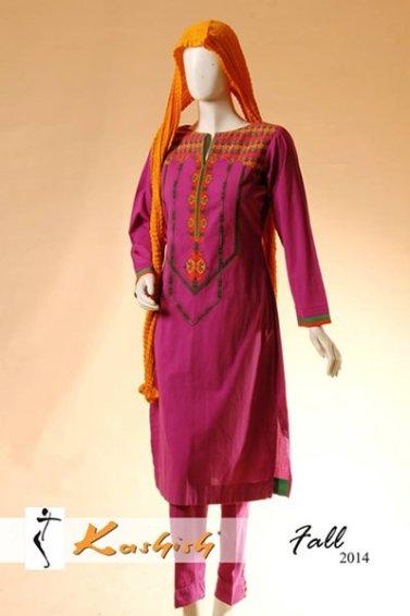 Kashish Winter Dresses 2014 For Women 001