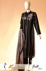 Kashish Winter Dresses 2014 For Women 004