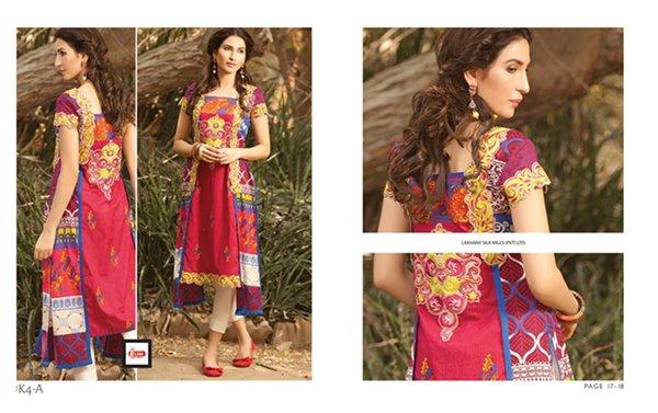 LSM Fabrics Winter Dresses 2014 Volume 4 For Women 006