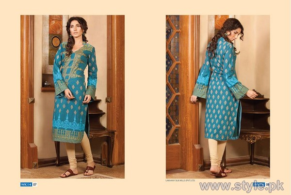 LSM Fabrics Winter Kurtis 2014 For Women 7