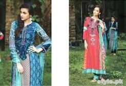 Maria B Winter Shawl Dresses 2014 For Women 7